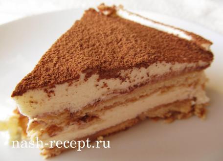 Тирамису рецепт оригинального торта